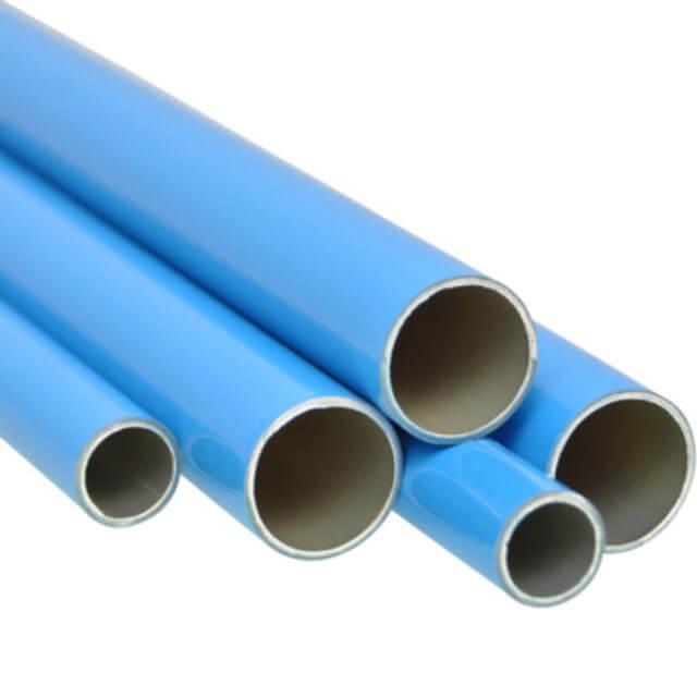 tuberías de aluminio